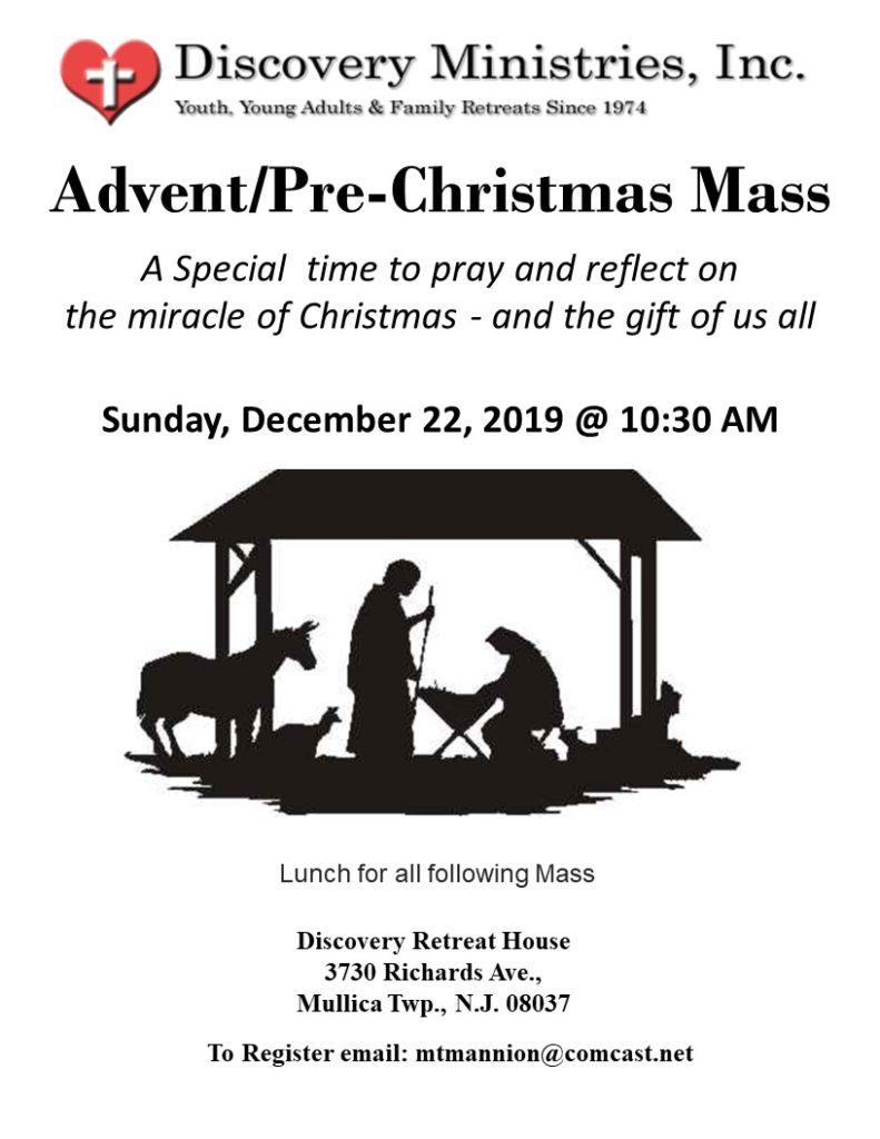 Advent/Pre-Christmas Mass