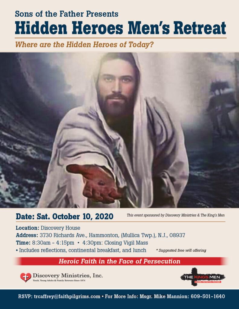 Hidden Heroes Men's Retreat