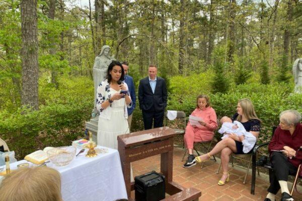 Baptismal Reception for Martin Gillespie -5/8/21